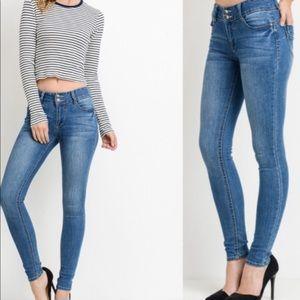 Push up skinny jean